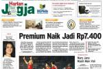 Harian Jogja edisi Sabtu (28/3/2015)