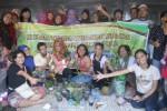 Anggota komunitas Tanam Apa Aja di Lahan Terbatas (Dok/JIBI/Solopos)
