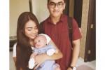 Aurel, Baby Arsy, dan Tommy Rumengan (Instagram.com)