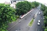 Batara Kresna melintasi kawasan Gladak menuju Stasiun Solo Kota (Sangkrah) (Danang Nur ihsan/JIBI/Solopos TV)