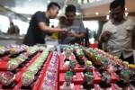 Pameran Batu Mulia Kekayaan Nusantara Gemart di The Park Mall, Rabu (25/3/2015). (Reza Fitriyanto/JIBI/Solopos)