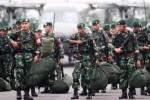 FOTO LATIHAN GABUNGAN TNI : Poso Jadi Ajang Latihan Atasi Teror