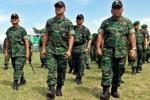 Latihan militer Back to Basic Kodam IV/Diponegoro, Senin (23/3/2015). (JIBI/Solopos/Antara/ R. Rekotomo)