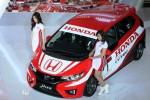 All New Honda Jazz versi balap dipamerkan di Jakarta, Rabu (25/3/2015). (Dedi Gunawan/JIBI/Bisnis)