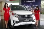 Peluncuran New Toyota Rush di Bandung, Senin (23/3/2015). (Rachman/JIBI/Bisnis)
