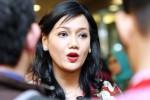 Direktur Pengembangan PT Bursa Efek Indonesia Friderica Widyasari Dewi memberikan keterangan pers seusai peresmian Sekolah Pasar Modal di Jakarta, Selasa (24/3/2015). (Dedi Gunawan/JIBI/Bisnis)