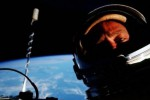 Foto selfie Buzz Aldrin (Mashable.com)