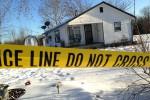 Garis polisi dibentangkan di TKP pembunuhan di Missouri Kansas Amerika Serikat (Dailymail)
