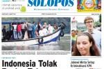 Halaman Depan Harian Umum Solopos edisi Jumat, 6 Maret 2015