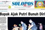 Halaman Depan Harian Umum Solopos edisi Minggu, 22 Maret 2015