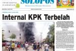 Halaman Depan Harian Umum Solopos edisi Rabu, 4 Februari 2015