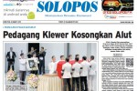 Halaman Depan Harian Umum Solopos edisi Senin, 30 Maret 2015