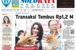 Halaman Soloraya Harian Umum Solopos edisi Sabtu, 7 Maret 2015