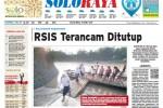 Halaman Soloraya Harian Umum Solopos edisi Selasa, 31 Maret 2015