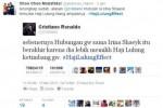 Meme #HajiLulungEffect berakun Cristiano Ronaldo (Twitter.com)