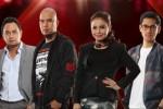 Mentor X Factor Indonesia Bebi Romeo, Ahmad Dhani, Rossa, dan Afgan Syahreza (Twitter.com)
