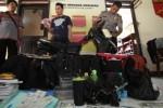 Ekspose kasus pencurian tas di Jebres oleh polisi Solo, Rabu (25/3/2015). (Reza Fitriyanto/JIBI/Solopos)