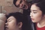 Prilly Lacuconsina dan Ricky Harun jahili Ricky Cuaca (Instagram)