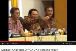 Rapat mediasi Ahok dan DPRD yang berakhir ricuh (Istimewa/Youtube)