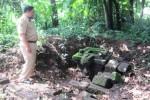 Sebuah situs ditemukan di Dukuh Watugenuk, Desa Kragilan Kecamatan Mojosongo. Situs tersebut diduga berumur ribuan tahun. Foto diambil Senin (16/3/2015). (Muhammad Irsyam Faiz/JIBI/Solopos)