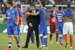 Pelatih Italia Antonio Conte dalam sebuah pertandingan bersama timnas Italia. Ist/dok