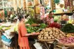 Pedagang kebutuhan pokok di Pasar Argosari Gunungkidul. (JIBI/Harian Jogja/David Kurniawan)