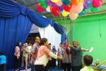 Owner Margaria Group Herry Zudianto saat meresmikan Dunia Kecilku, Minggu (1/4/2015). (JIBI/Harian Jogja/Abdul Hamied Razak)