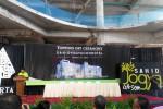 Topping off Sahid Yogya Condotel (JIBI/Harian Jogja/Adhitya Noviardi)
