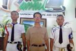 Kavien Yodri Asariaputra (kiri) dan Rendiyanto (kanan) seusai menemui Wakil Bupati Bantul, Sumarno, Senin (30/3/2015). (Harian Jogja/Bernadheta Dian Saraswati)