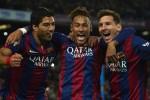Trio Barcelona, Suarez, Neymar, dan Messi kian menakutkan bagi lawan-lawannya. Ist/Dok