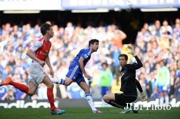 Arsenal vs Chelsea (Dailymail)