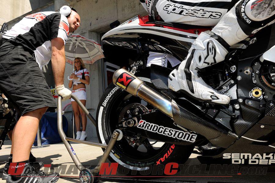 Produsen ban MotoGP, Bridgstone, menyiapkan ban terbaik di seri keempat Jerez. Ist/ultimatemotorcycl