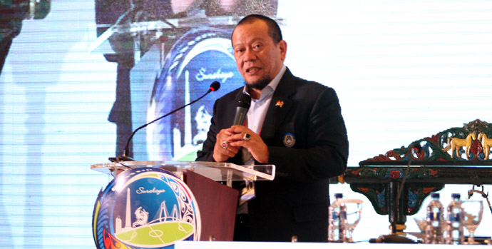 Ketua Umum PSSI, La Nyalla Mattalitti (Ligaindonesia.co.id)
