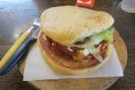 Burger Gedhe Smoked-Beef (JIBI/Harian Jogja/Verriyana Novita Ningrum)