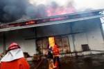 Gudang Indomarco di Sleman terbakar, Minggu (5/4/2015). (Gigih M. Hanafi/JIBI/Harian Jogja)
