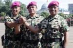 Jabatan komandan Korps Marinir diserahterimakan di Jakarta, Selasa (28/4/2015). (JIBI/Solopos/Antara/Muhammad Adimaja)