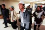 Mahasiswa Yaman pulang ke Sumatra Barat, Sabtu (18/4/2015). (JIBI/Solopos/Antara/Iggoy el Fitra)
