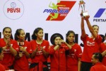 PROLIGA 2016 : Tekuk Gresik Petrokimia 3-0, Jakarta Elektrik PLN Buka Peluang Juarai Proliga