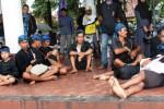 Warga Baduy di Alun-Alun Serang, Banten, Sabtu (25/4/2015). (JIBI/Solopos/Antara/Asep Fathulrahman)