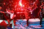 Dukungan Brajamusti saat laga PSIM vs Persela, Selasa (20/4/2015). (Desi Suryanto/JIBI/Harian Jogja)