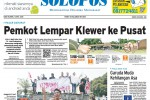 Halaman Depan Harian Umum Solopos edisi Rabu, 1 April 2015