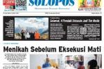 Halaman Depan Harian Umum Solopos edisi Selasa, 28 April 2015