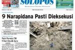 Halaman Depan Harian Umum Solopos edisi Senin, 27 April 2015