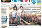 Halaman Soloraya Harian Umum Solopos edisi Sabtu, 25 April 2015