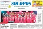 Halaman depan Harian Umum Solopos edisi Sabtu, 18 April 2015