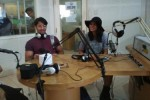 Shaheer Sheikh dan Krana Larasati di Solo Radio (Septina Arifiani/JIBI/Solopos.com)