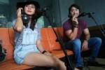 Shaheer Sheikh dan Kirana Larasati di Radio PTPN (Septina Arifiani/JIBI/Solopos.com)