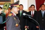 Komjen Pol. Badrodin Haiti dilantikan sebagai Kapolri baru di Istana Negara, Jakarta, Jumat (17/4/2015). (Dwi Prasetya/JIBI/Bisnis)