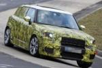 Mini Countryman terbaru dalam sesi tes di sirkuit Nurburgring, Jerman. (Autocar)