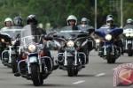Pengendara Harley Davidson. (Antara)